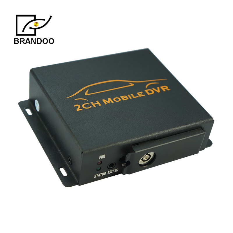 Hot Sale 2 Cameras Taxi Recorder System Bd-302 From Brandoo