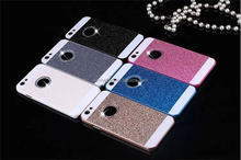 Newest bing bing glitter powder chrome wonderful hard back case with diamonds for iPhone 5 5s 6 6s plus rhinestone phone case