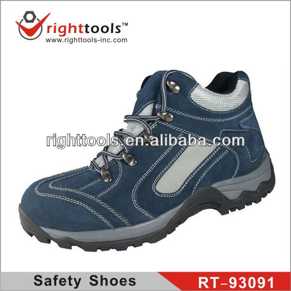 RIGHTTOOLS RT-93091 Genuine Leather industrial safety shoes