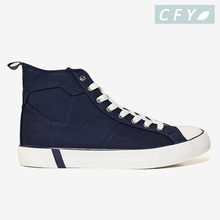 Factory Direct Selling High Cut Classic Canvas Shoes for Man Casual Sneakers for Men