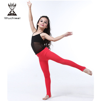 Wuchieal Belly Dance Tight Pants for Children, Dancing Leggings for Kids