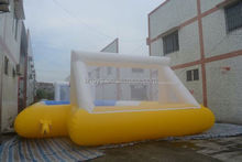 field inflatable football , LZ-120 durable pvc inflatable water football field