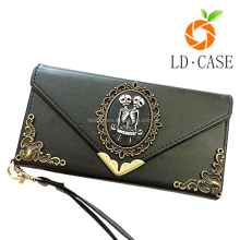 Latest PU leather wallet mobile phone cover soft