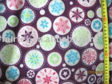 Printed Coral Fleece for blanket and bathrobe use