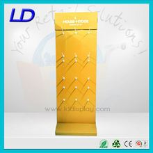 wall hook display mobile phone accessory display store shelf floor display hook stand for hair extension