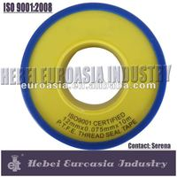 Hebei Euroasia 100% PTFE Sealing Tape for Pipe Fittings