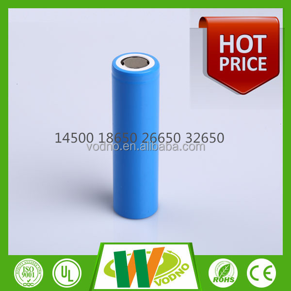 Factory direct cylindrical battery cell 3.7v 2400mah 18650 li-ion battery