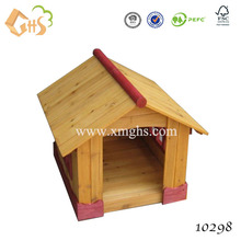 Cheap wood dog house dog cage pet house for outdoor