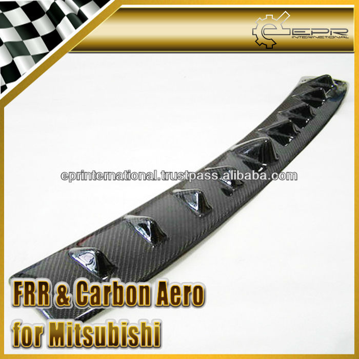 For Mitsubishi Evolution EVO 4 5 6 Carbon Fiber Vortex Generator