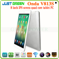 Onda v813s android tablet built in gps 8inch android 4.2 quad core 3G tablet pc
