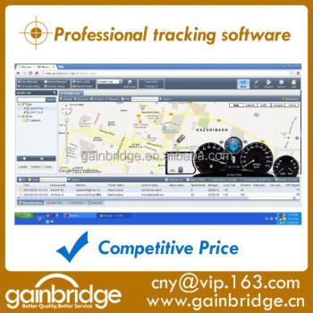 gps tracking software platform compatible with many trackers from China