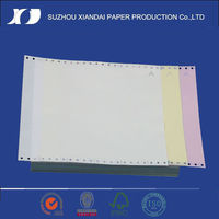2013top quality continuous computer printing paper by perforator paper