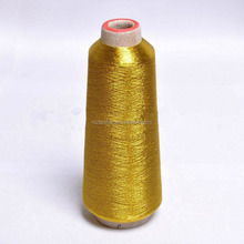 ST Type Fluorescent Gold Metallic yarn for Embroidery Jari Kasab
