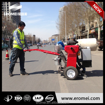 2016 New Vacuum Cleaning Asphalt Pavement Crack Router