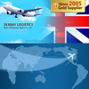 Consolidation Door to door air freight from China to UK