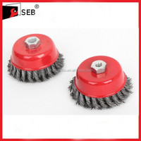 Twist Knot Wire Shaft Cup Brushes