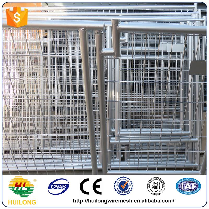 2016 new Spain Hot Sale Or Galvanized Comfortable Dog Run Kennels ISO certificte