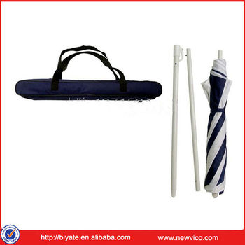 Mini black and white stripe folding beach umbrella buy - Sombrillas de playa plegables ...