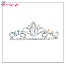 wayzi brand alloy bridal wedding tiara headband price crystal tiaras and crowns