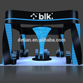 Detian Offer china display stand luxurious u shape booth retort stands exhibition booth