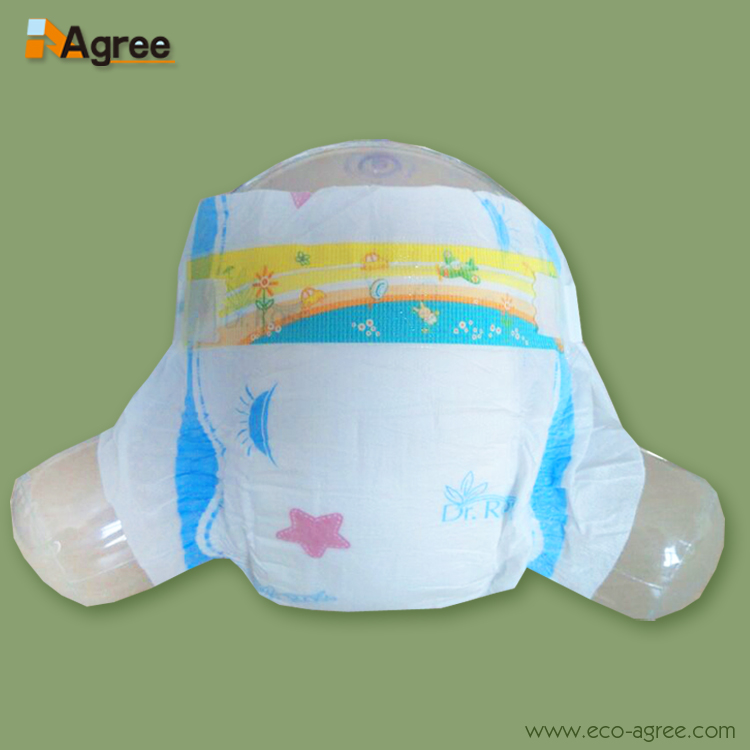 Disposable Sleepy Overnight Cotton Quality Premium Baby Diaper