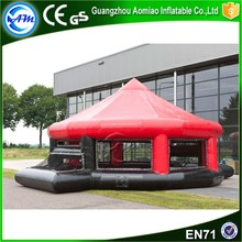 Giant Portable Inflatable Soccer Court,soccer field with rain cover