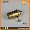 CE approved brass light bulb socket brass holder