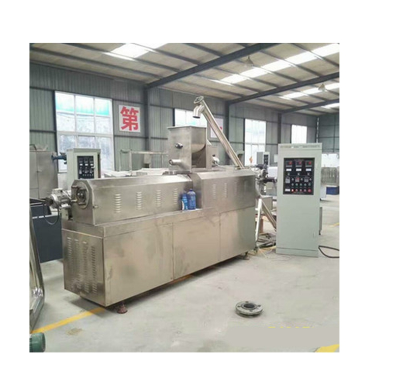 Low energy consumption breakfast cereal corn flakes production process machine