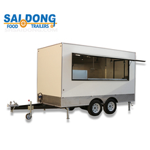 towable design trailer mobile food and hot dog cart