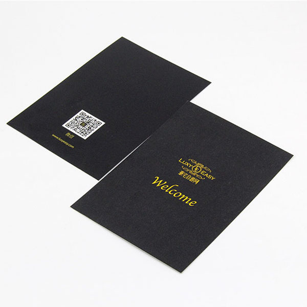 Wholesale bulk gold foil stamping business card paper