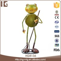 Cute and fashion animal shaped metal custom figurine