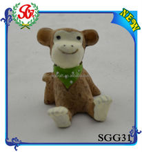 SGG31 Home Decor Cute Monkey Small Cheap Animal Figurines
