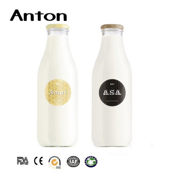 Milk glass bottles wholesale manufacturers