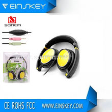 Foldable hands free walkie talkie headset for promotion