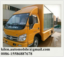 Out door full color P8/P10 Bruma led advertising truck