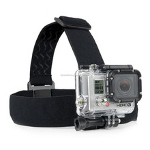 Elastic Adjustable Head Strap Mount with Anti-slide Glue for Go pro Hero4 3+ 3/2/1