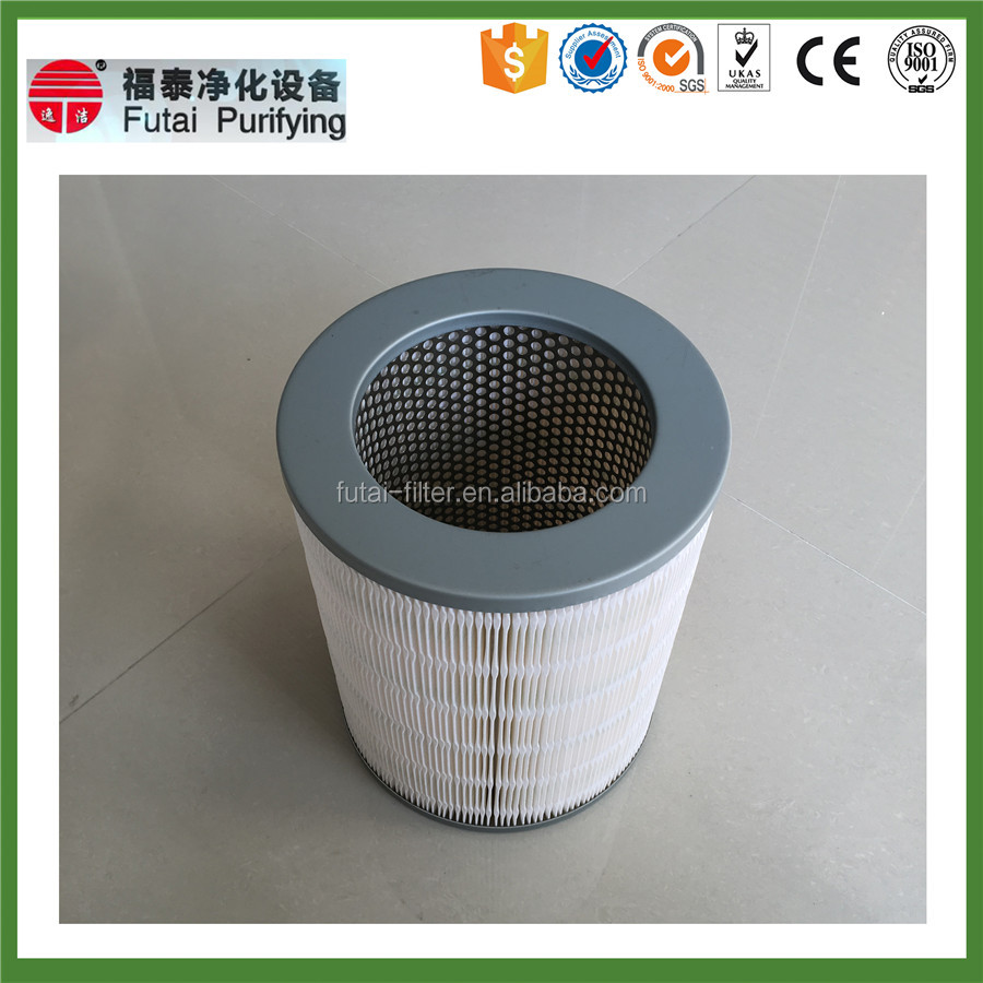 stainless washable sand filter gas turbine cartridge filter