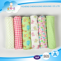 100%cotton fabrics cotton muslin wraps baby diapers made in China