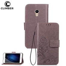Luxury Flip Stand PU Wallet Cover For Meizu M5S M3S Card Holder Case For Meizu M3 M5 M6 Note Flip Leather Case