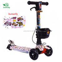 Fun Toys Cheap 4 Wheel Kids Kick Mini Scooter / 4 Wheel Cheap Kids Scooter / newest design frog Scooters