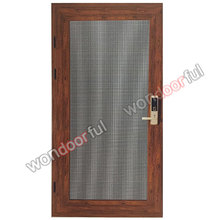 hot sale European standard of hinge anti theft gauze casement door