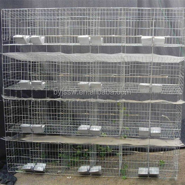 Factory Supply Cheap Cage For Rabbits Farm( 9 cells, 12 cells, 24 cells )