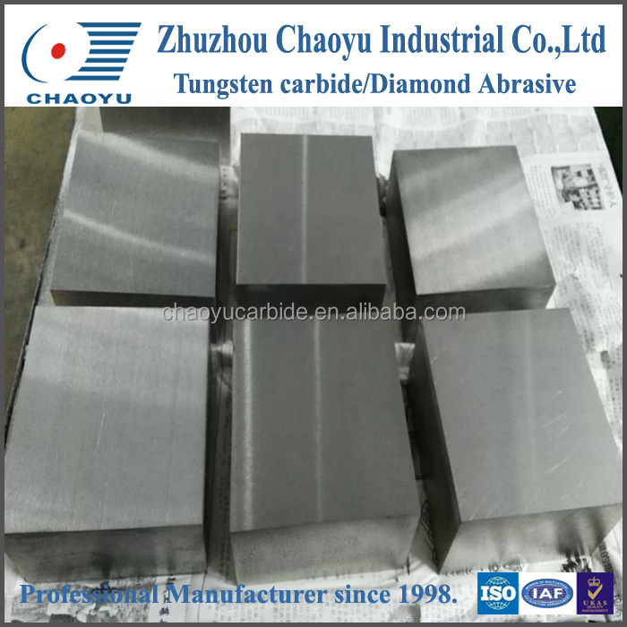 precision ground tungsten carbide plates