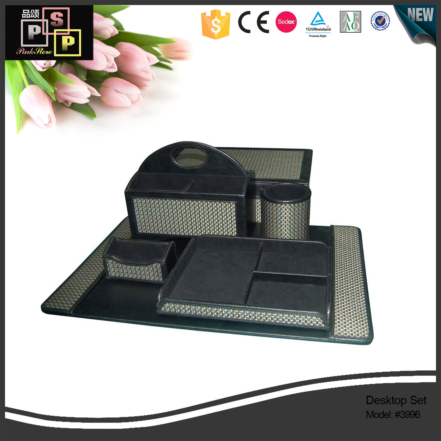 Different styles accept custom size custom material desktop set