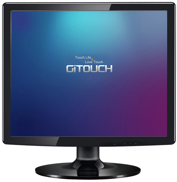"TM150 TFT LCD Monitor 15"" touch screen monitor with VGA,Open frame touch monitor"