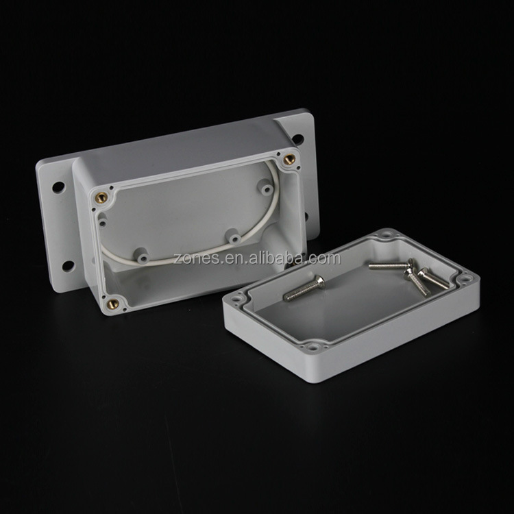 wall mounting ip66 waterproof plastic abs boxes outdoor electrical enclosures