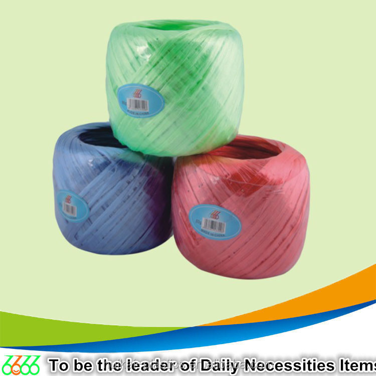 High strength plastic ropes,clothes line rope/baler twine with seveal color