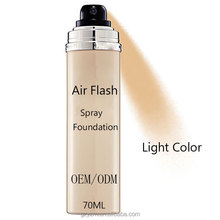 Makeup Foundation Whitening Brightening Waterproof Cosmetic Air Flash Spray Foundation