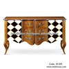 French antique sideboard style louis xv commode sideboard