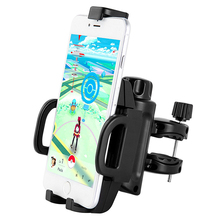 universal motor bike accessories gps phone holder 360 rotate bicycle stand